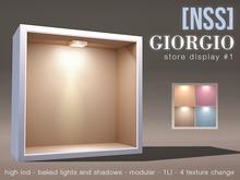 [NSS] 'Giorgio' store display #1