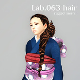*booN Lab.063 hair black pack