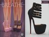 [BREATHE]-Platonica Heels-Black-(for Slink High Feet & Maitreya Lara & Belleza)