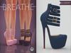 [BREATHE]-Platonica Heels-Blueberry-(for Slink High Feet & Maitreya Lara & Belleza)