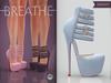 [BREATHE]-Platonica Heels-Serenity-(for Slink High Feet & Maitreya Lara & Belleza)