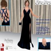 """007 Casino Royale 2"" DarkBlue Gown - Fashion Dream"