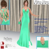 """""""007 Casino Royale 2"""" GreenMint Gown - Fashion Dream"""
