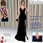"""007 Casino Royale 2"" Purple Gown - Fashion Dream"