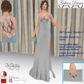 """007 Casino Royale 2"" Silver Gown - Fashion Dream"