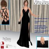 """007 Casino Royale 2"" Black Gown - Fashion Dream"