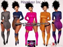 Macaluso Inc./ Hud Driven Teaser Top & Black Panties (Exclusive) - Maitreya, Slink Phys. HourGlass, ALL Belleza