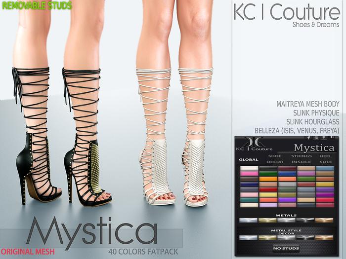 -KC- MYSTICA BOOTS / MAITREYA, BELLEZA, PHYSIQUE & HOURGLASS