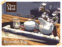 Industrial Decorated Tray ♥ CHEZ MOI