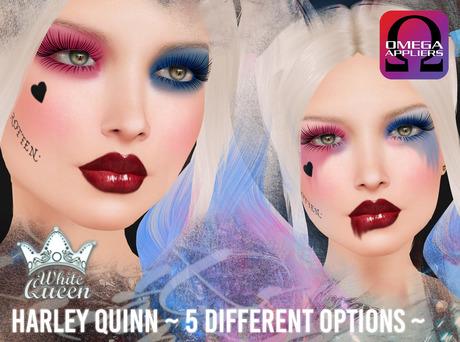 ::White Queen:: - Harley Quinn eyeshadow - Omega