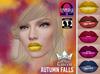 ::White Queen:: - Autumn Falls Lipstick  - Omega