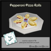 F&B Pepperoni Pizza Rolls Platter