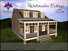 Thistle Homes - Watercolor Cottage Tan - Original Mesh