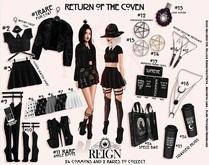 REIGN.- Montgomery Fur Coat (MAITREYA LARA) RARE