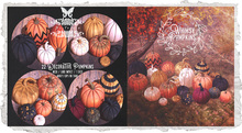 {Nostalgia} Whimsy Pumpkins / Mesh / Decor / Fatpack