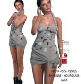 Eyelure Jersey Knotted Dress - HalloweenGreyPrint