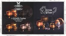 {Nostalgia} Kitchen Witchery Cauldrons / Mesh / Decor / Fatpack