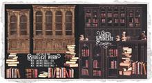 {Nostalgia} Bookcase & Books / Mesh / Decor / Worn