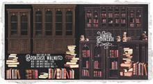 {Nostalgia} Bookcase & Books / Mesh / Decor / Walnut