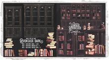 {Nostalgia} Bookcase & Books / Mesh / Decor / Dark