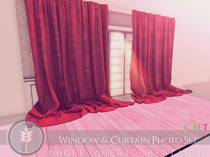 WHOLE.WHEAT Window & Curtain Photo Set [Copy,Modify]