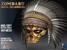 ZK - Zomdabu Skull Headdress [ Caveira Cocar ]