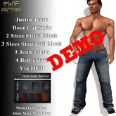 IMaGE Factory Justin Jeans - Boot Cut Demo