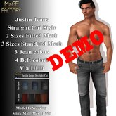 IMaGE Factory Justin Jeans - Straight Fit Demo