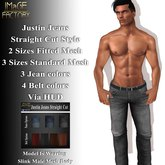 IMaGE Factory Justin Jeans - Straight Fit