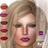 Oceane - Bubblicious Lip Gloss 5-pack 2- Omega