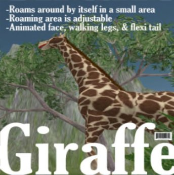 "Giraffe by ""The LOLO Pet Shop"""