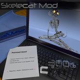 aiVerse Skelecat MOD Painted Steel