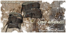 .dystopia. grimy armbands