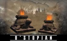 D'STOPIAN // Turtle Torch Statue [BOXED]