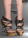 AZOURY - Linaewen High heels Shoes [Black]