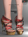 AZOURY - Linaewen High heels Shoes [Red]