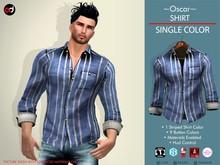 A&D Shirt -Oscar- Blue-Ivory