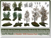 Mesh Birch Forest Building Set 21 Parts Seasons Hud copy-mody