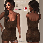 """""""BeatriceStyle"""" - Coffee Neon Dress"""
