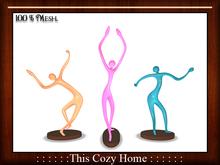 Decorative Statuettes Set *Dance*