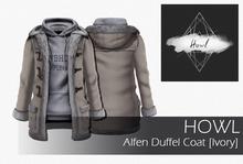 Howl - Alfen Duffel Coat (Ivory) WEAR