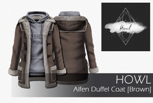 Howl - Alfen Duffel Coat (Brown) WEAR