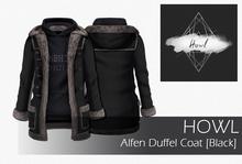 Howl - Alfen Duffel Coat (Black) WEAR