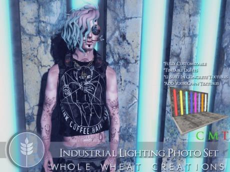 WHOLE.WHEAT Industrial Lighting Photo Set [COPY,MODIFY]