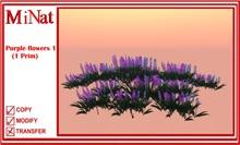 MiNat Purple flowers 1 (1 Prim)