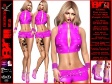 **KEMAL PINK VERSION ROCKER STYLE COMPLET OUTFIT **
