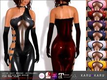 KARU KARU - Latex Suit Brooke (9 Colors)