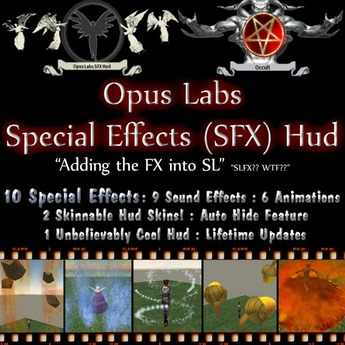 Opus Labs - Special Effects (SFX) Hud - On SALE!