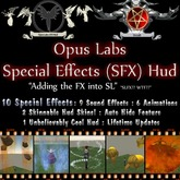 Opus Labs - Special Effects (SFX) Hud