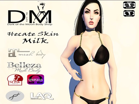 D&M Body Shop - Hecate Milky